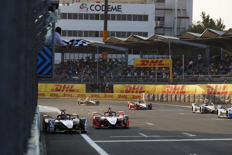 Lucas di Grassi & Pascal Wehrlein at the 2019 Mexico City E-Prix