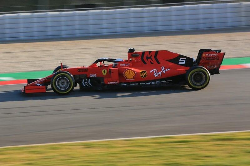 Sebastian Vettel - Formula 1 - 2019 Winter Testing