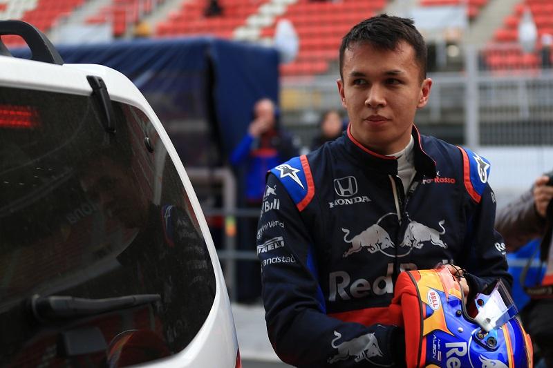 Alexander Albon - Scuderia Toro Rosso - Circuit de Barcelona-Catalunya