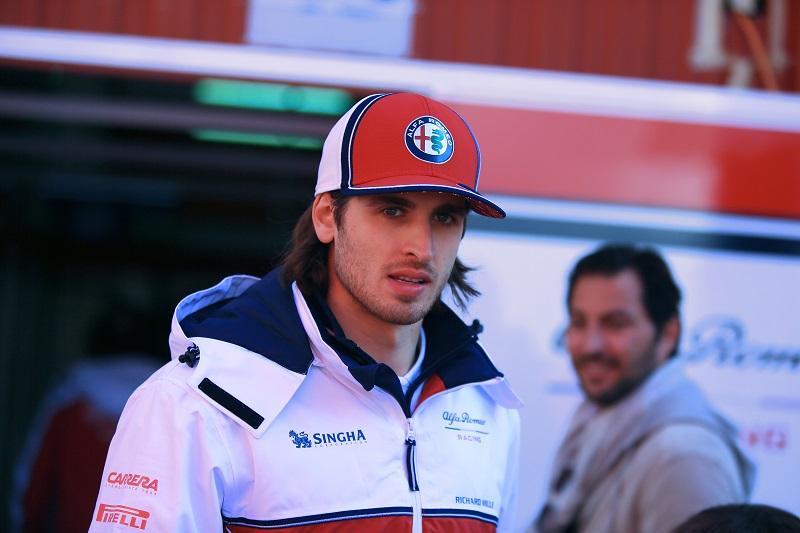 Antonio Giovinazzi - Alfa Romeo Racing - Circuit de Barcelona-Catalunya