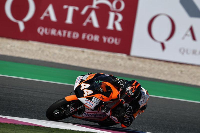 Aron Canet takes Moto3 Pole at Qatar