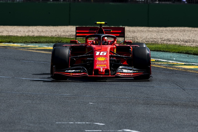 Charles Leclerc - Scuderia Ferrari - Albert Park