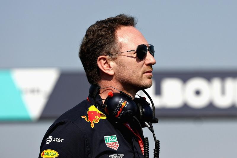 Christian Horner - Red Bull Racing - Albert Park