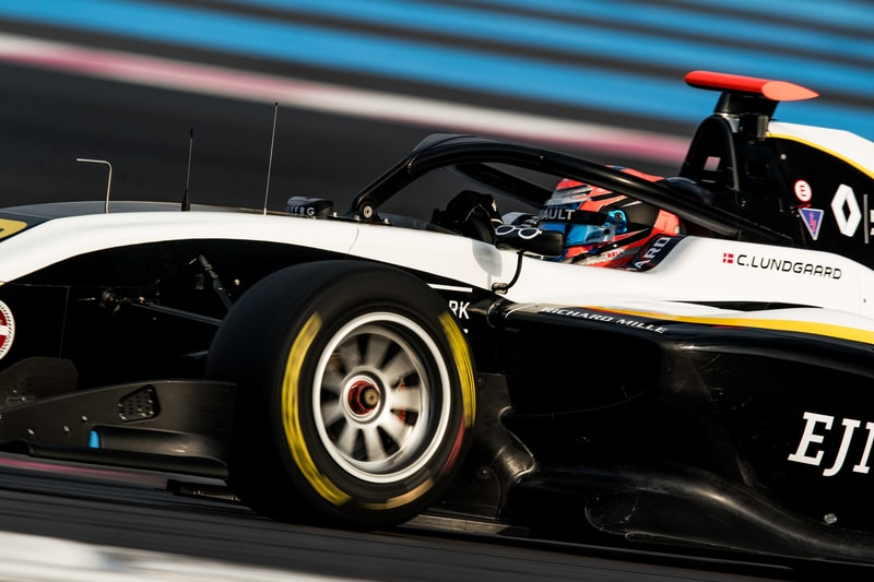 Christian Lungaard: FIA F3 Testing - Circuit Paul Ricard