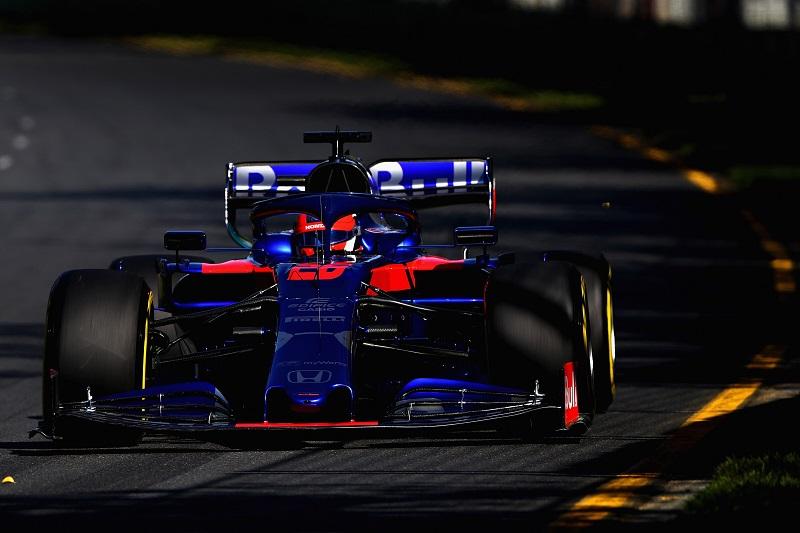 Daniil Kvyat - Red Bull Toro Rosso Honda - Albert Park