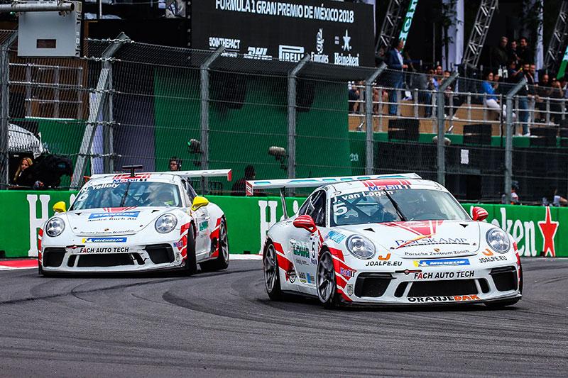 Fach Auto Tech Announce Three Car Line Up For Porsche Supercup The Checkered Flag