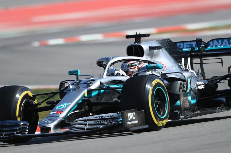 Formula 1 – Winter Testing - Test 1 - Day 2. Rich Energy Haas F1 Team VF19 – Kevin Magnussen. Circuit de Barcelona-Catalunya. Tuesday 19th February 2019.
