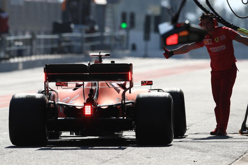 Formula 1 – Winter Testing - Test 2 - Day 3. Scuderia Ferrari SF90 – Charles Leclerc. Circuit de Barcelona-Catalunya. Thursday 28th February 2019.