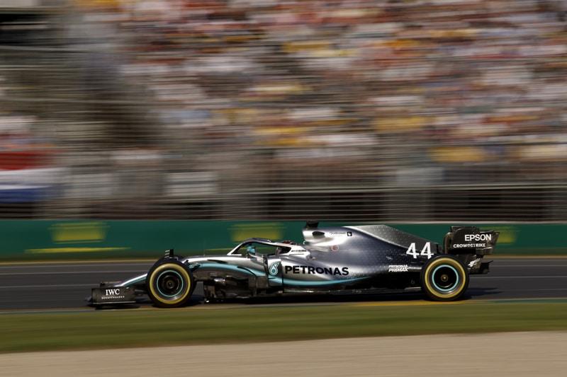 Lewis Hamilton finishes second at Australian Grand Prix 2019