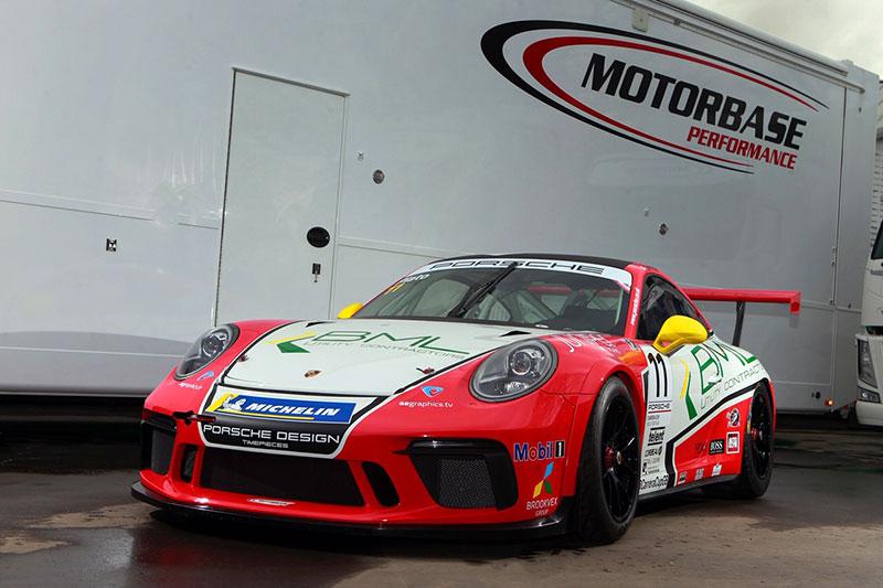 Plato switches to Motorbase Performance for 2019 Porsche Carrera Cup GB season
