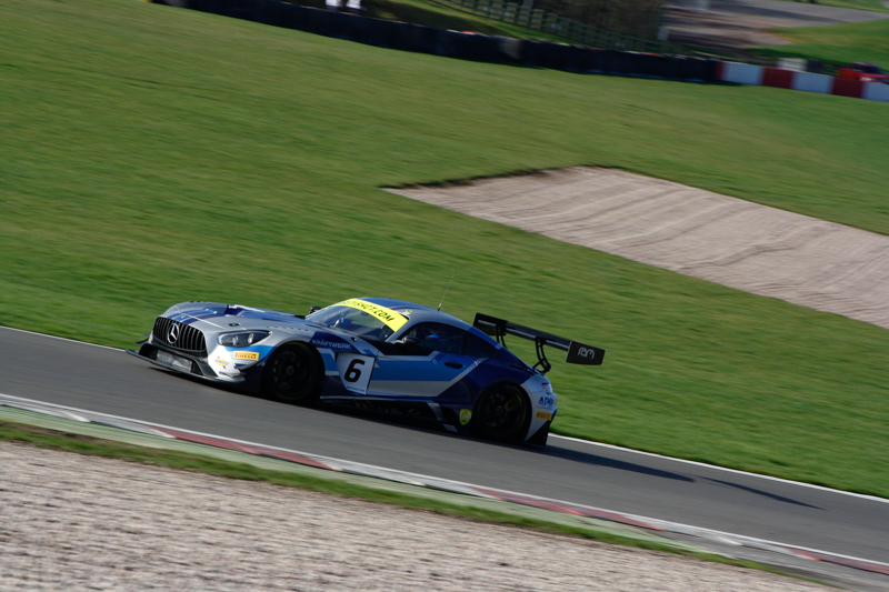 The RAM Racing Mercedes-AMG GT3 topped the time sheets in the first test session.