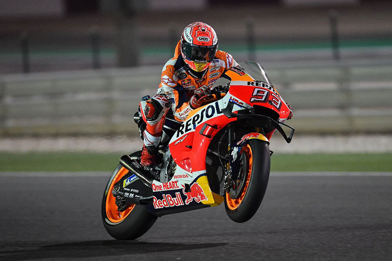 Marc Marquez Smahes Losail Record in FP2