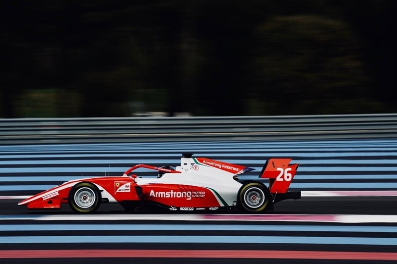 Marcus Armstrong: FIA F3 Testing - Circuit Paul Ricard