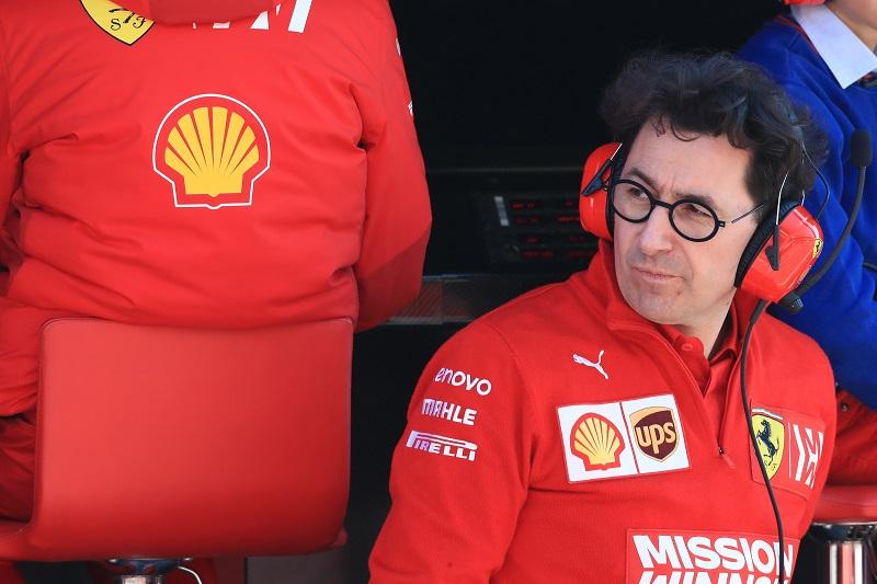 Mattia Binotto - Scuderia Ferrari - Circuit de Barcelona-Catalunya