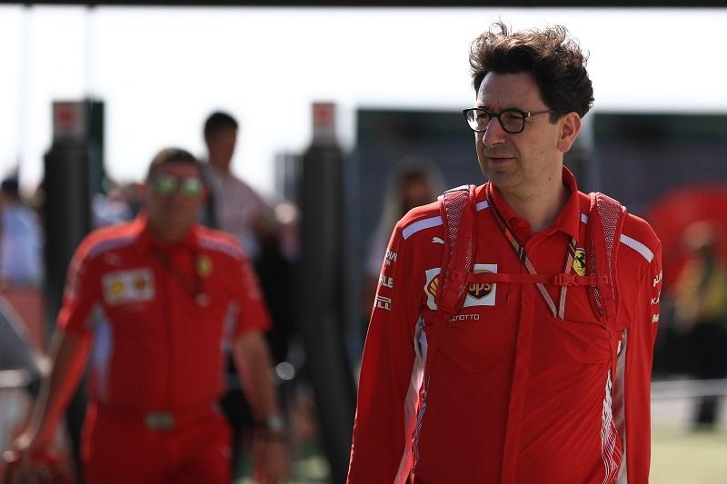 Mattia Binotto - Scuderia Ferrari - Silverstone