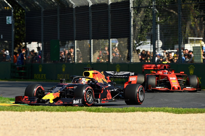 Max Verstappen & Charles Leclerc - Red Bull Racing & Scuderia Ferrari - Albert Park