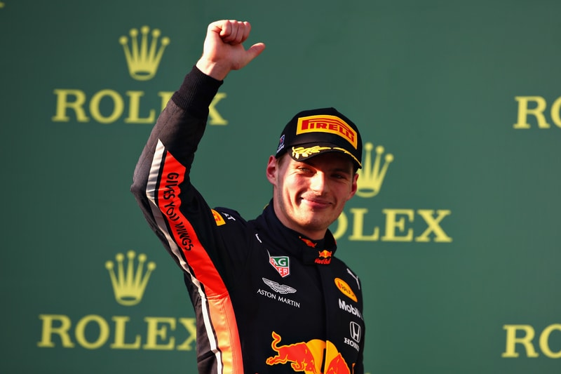 Max Verstappen Australian Grand Prix