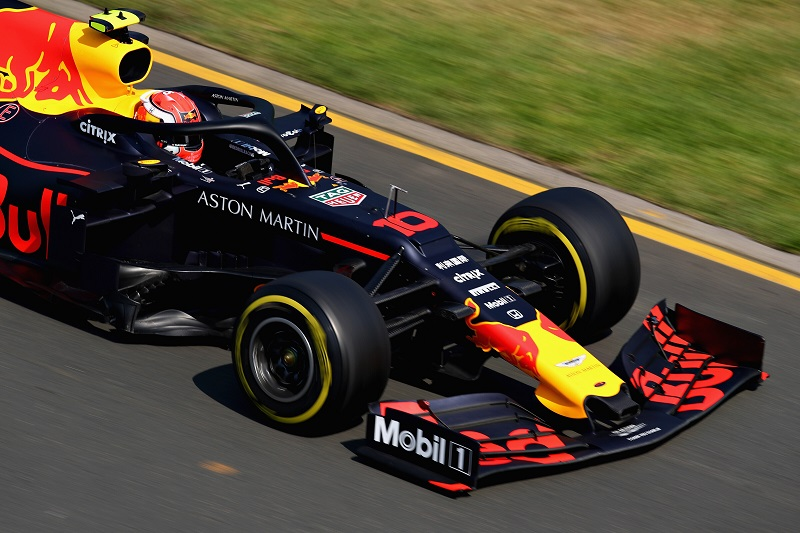 Pierre Gasly - Aston Martin Red Bull Racing - Albert Park