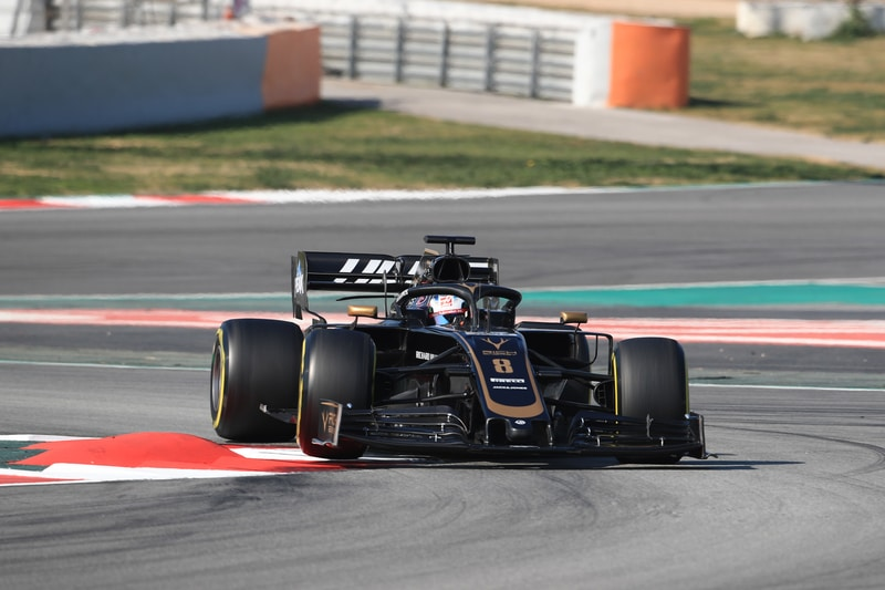 Romain Grosjean - Rich Energy Haas F1 Team - Pre-Season Test 2 - Circuit de Barcelona-Catalunya
