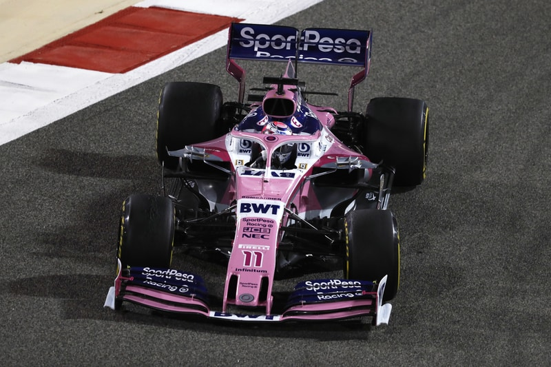 Sergio Perez Finishes Tenth in Bahrain 2019