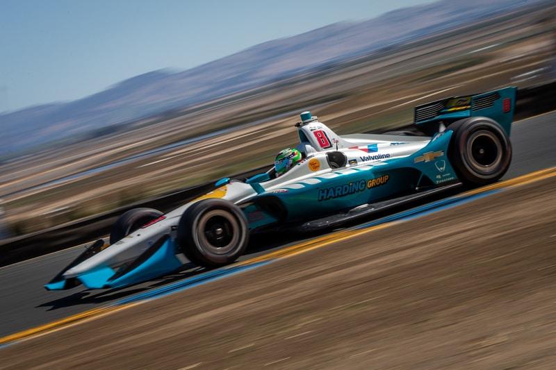 Patricio O'Ward (MEX), Harding Steinbrenner Racing, 2018 Verizon IndyCar Series, Sonoma Raceway