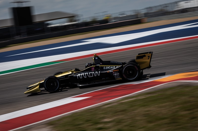 Marcus Ericsson (SWE), Arrow Schmidt Peterson, 2019 NTT IndyCar Series, Circuit of the Americas
