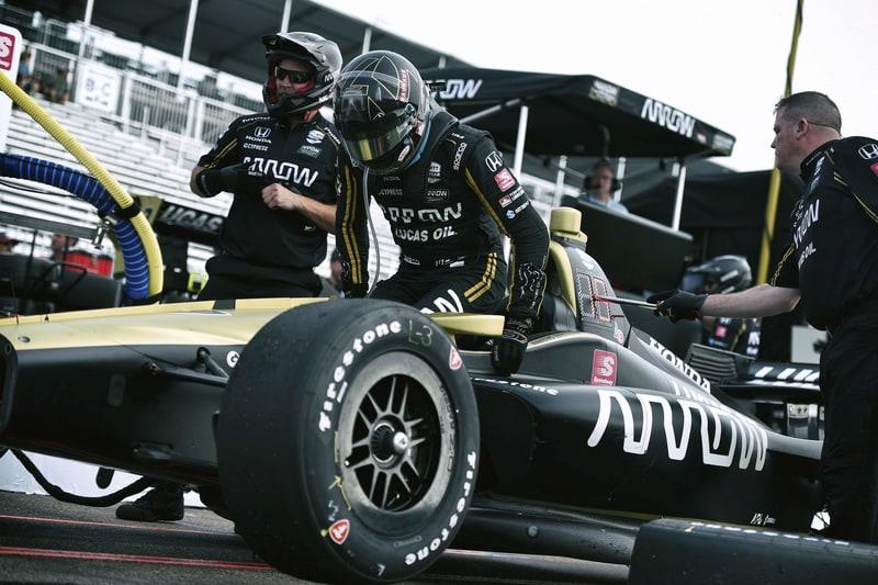 Marcus Ericsson (SWE), 2019 NTT IndyCar Series, Arrow Schmidt Peterson, Grand Prix of St. Petersburg
