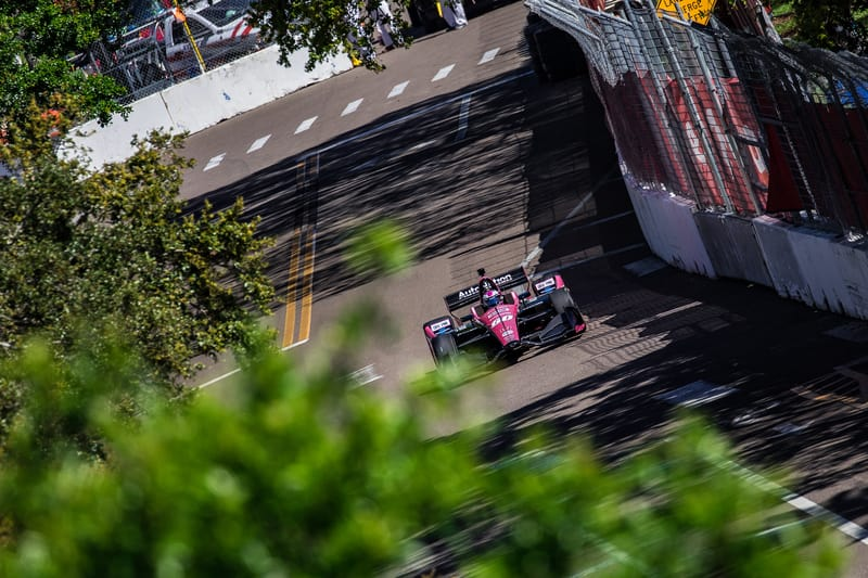 Jack Harvey (GBR), Meyer Shank Racing, 2019 NTT IndyCar Series, Grand Prix of St. Petersburg