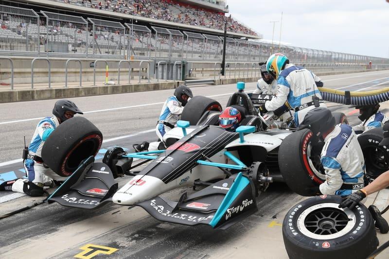 Colton Herta (USA), Harding Steinbrenner Racing, 2019 NTT IndyCar Series, Circuit of the Americas