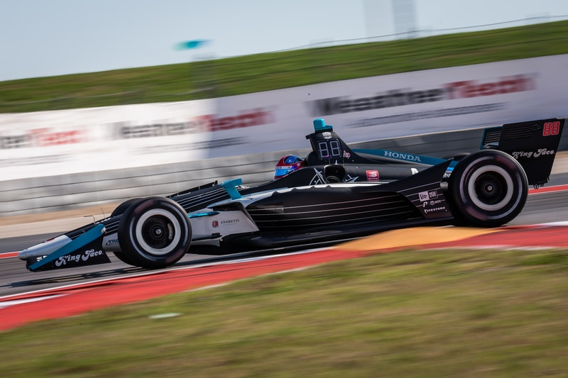 Colton Herta (USA), Harding Steinbrenner Racing, 2019 NTT IndyCar Series, Circuit of the Americas, Practice