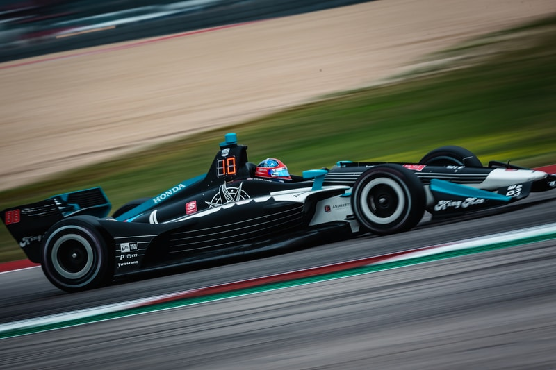 Colton Herta (USA), Harding Steinbrenner Racing, 2019 NTT IndyCar Series, Circuit of the Americas, Qualifying
