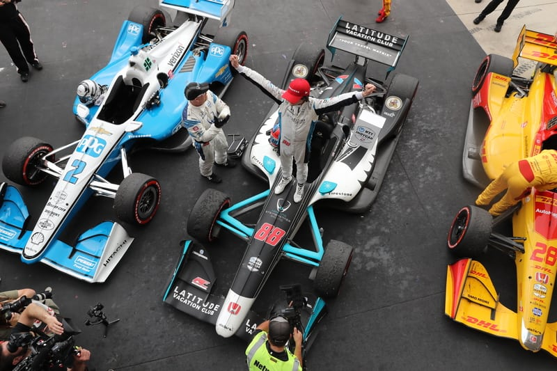 Checkered Flag VW >> Colton Herta takes maiden IndyCar win at COTA - The ...
