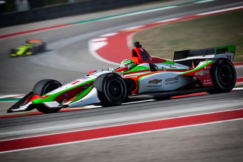 Patricio O'Ward (MEX), Carlin, 2019 NTT IndyCar Series, Circuit of the Americas