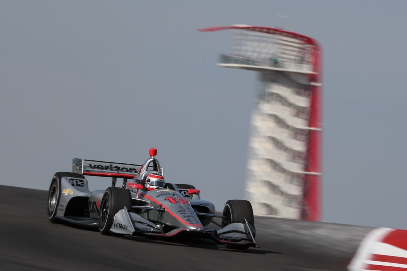 Will Power (AUS), Team Penske, 2019 NTT IndyCar Series, Circuit of the Americas, Practice