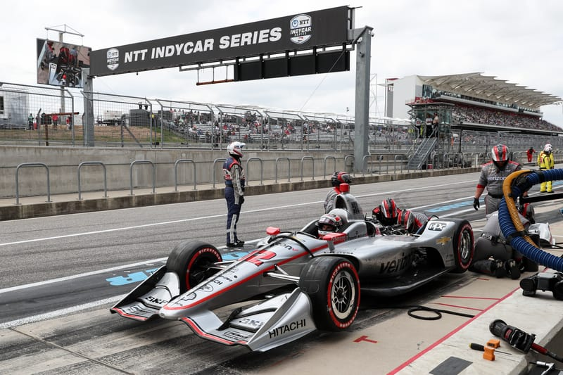 Will Power (AUS), Team Penske, 2019 NTT IndyCar Series, Circuit of the Americas, Race