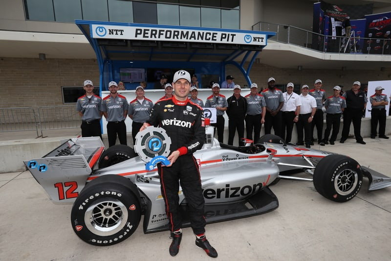 Will Power (AUS), Team Penske, 2019 NTT IndyCar Series, Circuit of the Americas, Qualifying