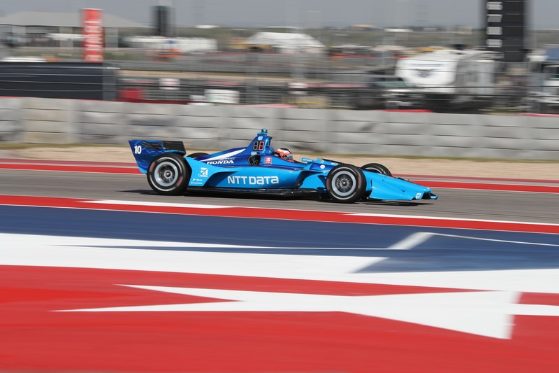 Felix Rosenqvist (SWE), Chip Ganassi Racing, 2019 NTT IndyCar Series, Circuit of the Americas, Practice