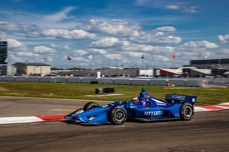 Felix Rosenqvist (SWE), 2019 NTT IndyCar Series, Chip Ganassi Racing, St. Petersburg, Practice