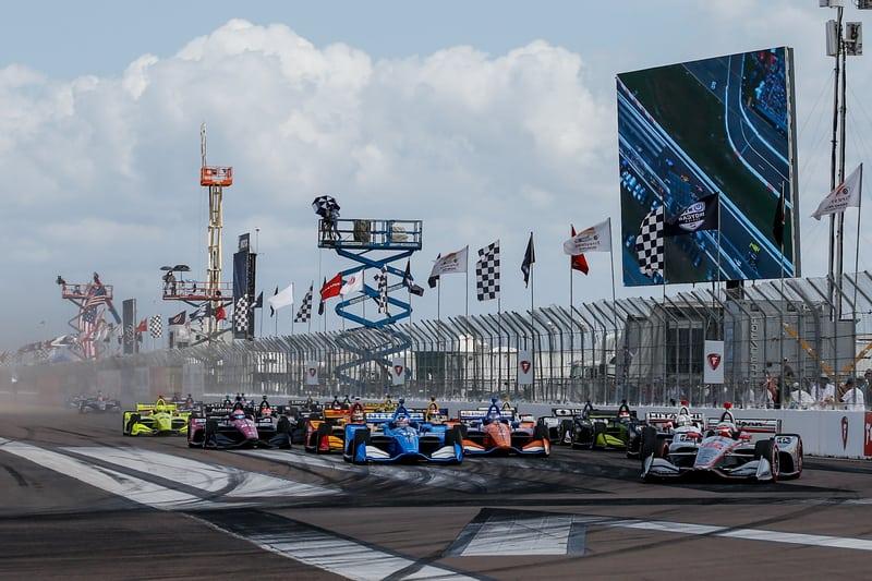 2019 NTT IndyCar Series, Grand Prix of St. Petersburg, Race Start