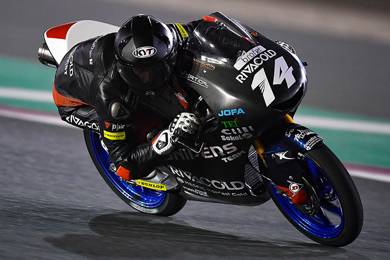 Tony Arbolino Topped the Moto3 Session at Qatar
