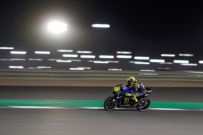 Tyre Problems dent Rossi's Progress in Qatar
