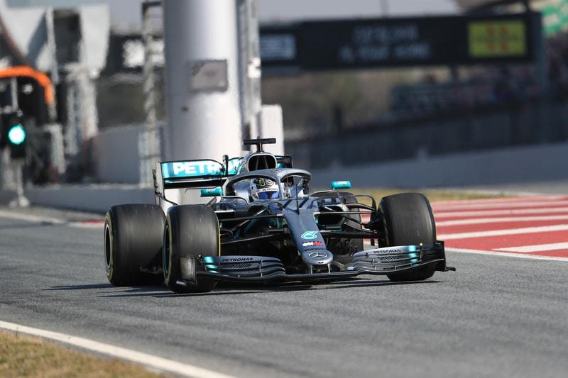 Valtteri Bottas - Mercedes AMG Petronas Motorsport - Pre-Season Test 2 - Circuit de Barcelona-Catalunya