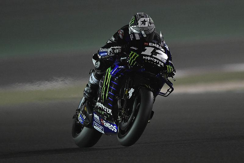 Viñales Pleased with Yamaha Corning at Qatar