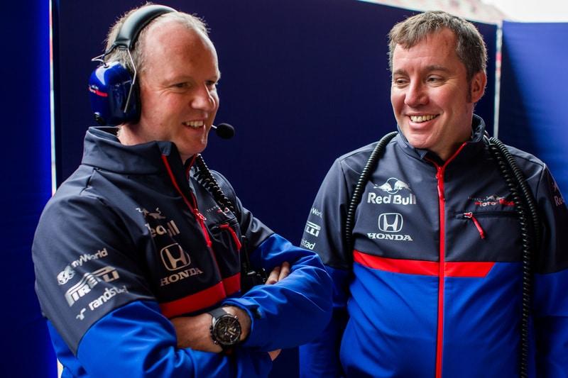 Graham Watson and Jody Egginton - Toro Rosso Pre-Season Testing Barcelona