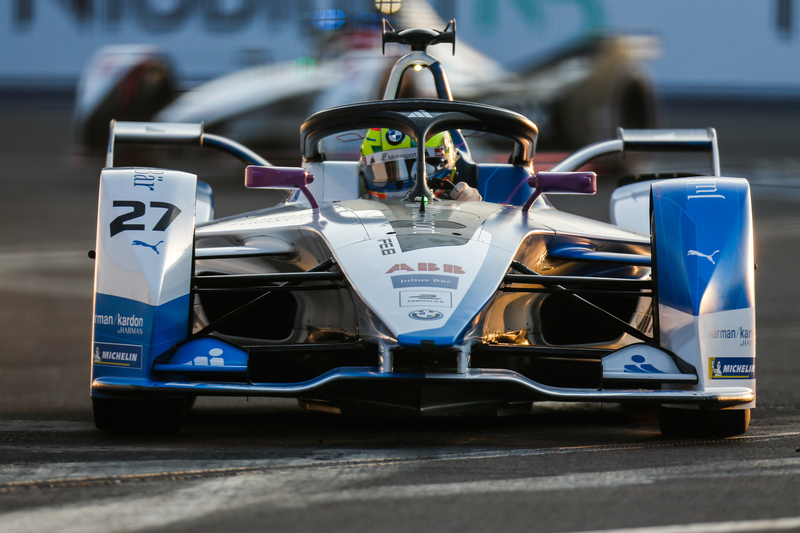 Alexander Sims - BMW i Andretti Motorsport at the 2019 Mexico City E-Prix.