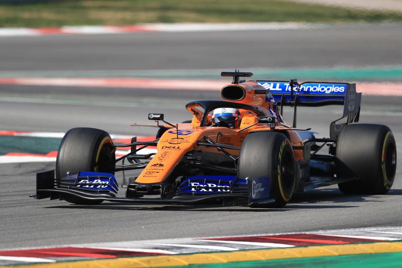 Carlos Sainz Jr. - McLaren F1 Team at the Circuit de Barcelona-Catalunya for F1 2019: Test Two - Day Four