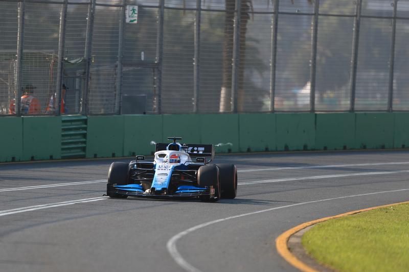 George Russell - ROKiT Williams Racing at the 2019 Formula 1 Australian Grand Prix - Albert Park.