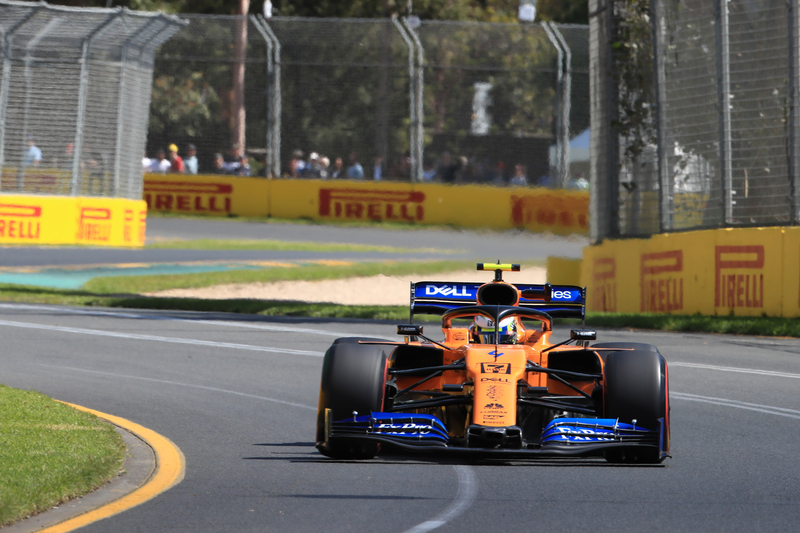 Lando Norris - McLaren F1 Team at the 2019 Australian Grand Prix - Albert Park