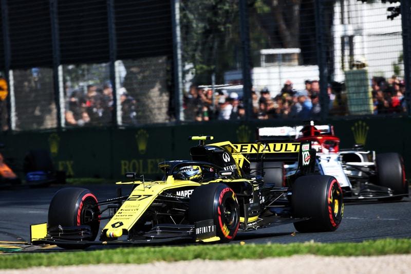 Nico Hülkenberg, Kimi Räikkönen & Lando Norris - Formula 1 - 2019 Australian GP