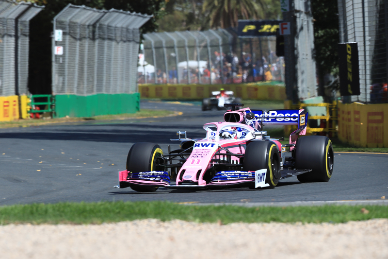 Sergio Perez - SportPesa Racing Point F1 Team at the 2019 Formula 1 Australian Grand Prix.